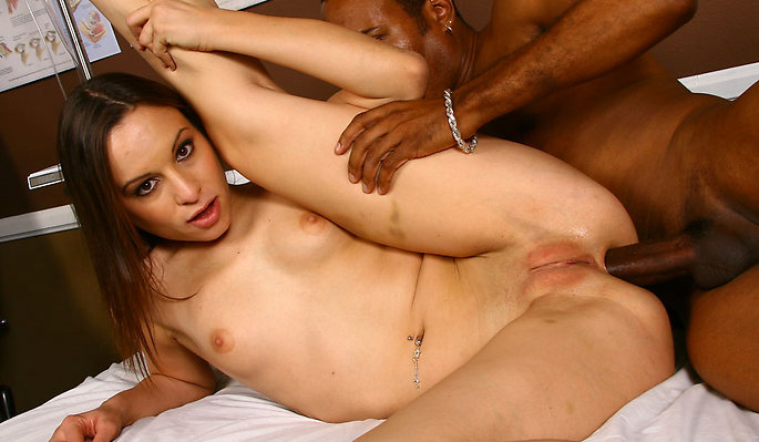 Amber Rayne interracial sex video from Blacks On Blondes