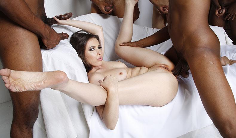 Cuckold slut stella cox fucks mandingo039s black cock