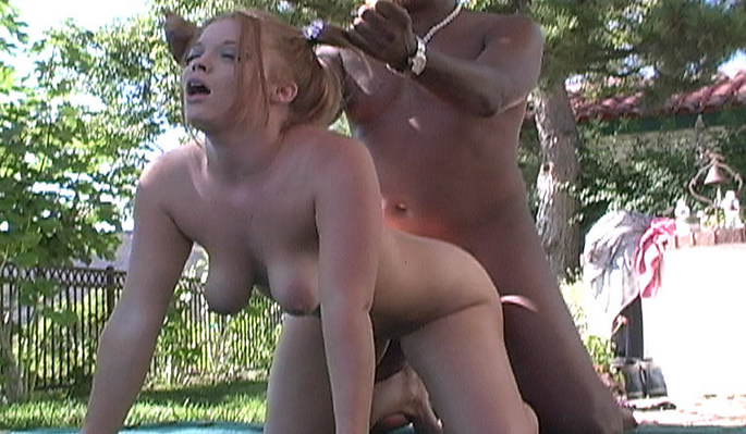 Blacks On Blondes interracial sex video