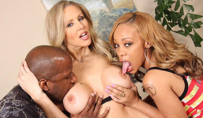 Julia Ann interracial sex video from Blacks On Blondes