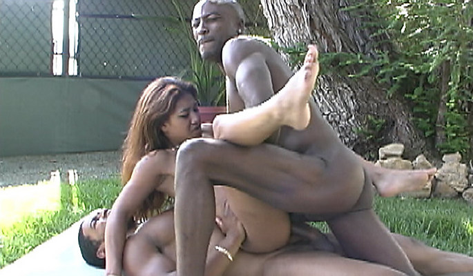 Lyla Lei interracial sex video from Blacks On Blondes