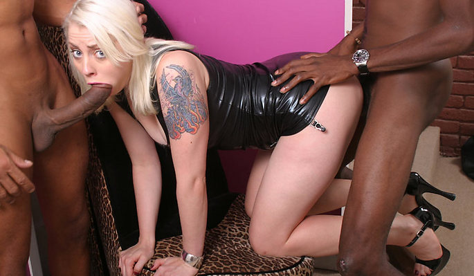 Lorelei Lee interracial sex video from Blacks On Blondes