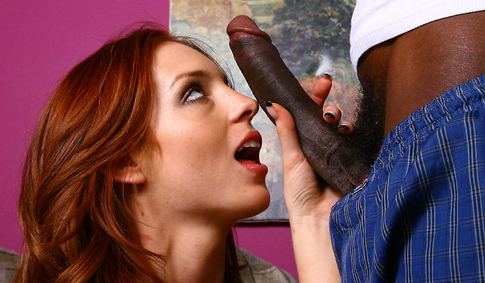 Riley Shy interracial sex video from Blacks On Blondes