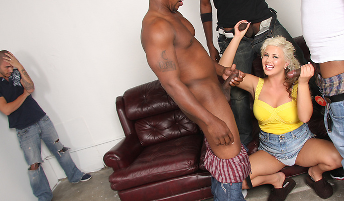 Andi Anderson Interracial Porn Video
