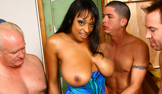 Carmen Hayes gang bang video from Cum Bang