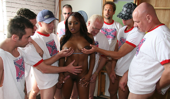 Jada Fire gang bang video from Cum Bang