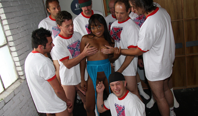 Cum Bang gang bang video