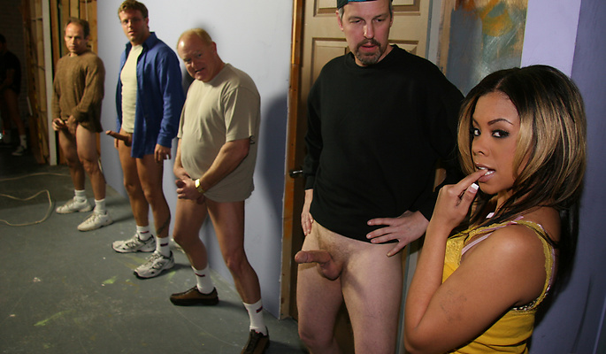 Olivia Winters gang bang video from Cum Bang