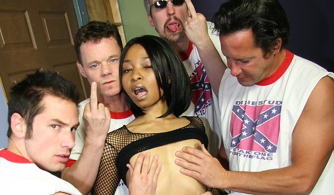 Rachel Day gang bang video from Cum Bang