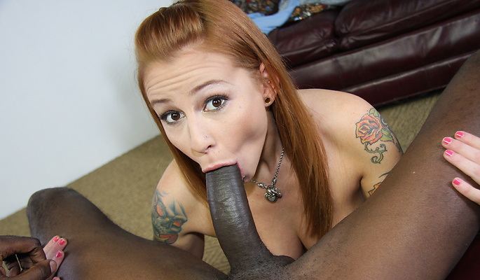 Scarlett Pain interracial sex video from Interracial Pickups