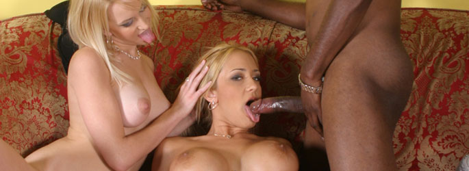 Ruth Blackwell,Trina Michaels Interracial Porn Video