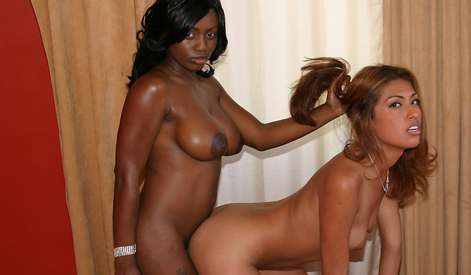 Jada Fire, Lena Juliette lesbian sex video from Zebra Girls